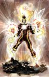 Firestorm New 52 first pitch by Cinar