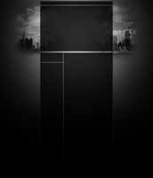 Typography Black and White by TriigzHD