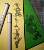 animal notepad by git2