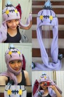 Chandelure Hat by shiro-co