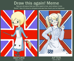 Draw this Again Meme by PurpleAsteroid