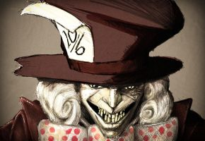 Mad Hatter by stephenglagow