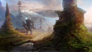 Landscapes part four: Land Of Giants by MOSKUITO