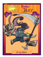 Halloween Contest - Bay by zazaKUN011