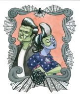 Frankenstein's Monsters by PlumAndLeather