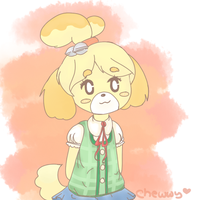 Isabelle by bobateaa