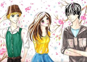 Ao Haru Ride by SpringSnowflakes