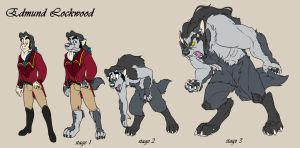 Edmund- Werewolf Stages by Fyuvix