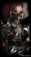 Chaos female armor by Deakath