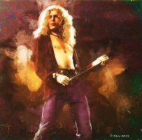 Robert Plant by paulnery