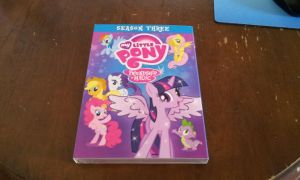 My Little Pony Season Three on DVD by DestinyDecade