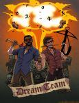 Zombie Fighting Dream Team by raesquared