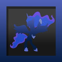 Princess Luna Icon by Julien12826
