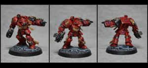 Blood Angel Terminator by TheWayOfTempest
