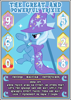 MLP:FiM Card Game: The GaPT - Show Off by PonyCardGame