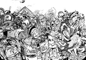 Freestyle drawing with Inkhead by Never-Brush-My-Teeth