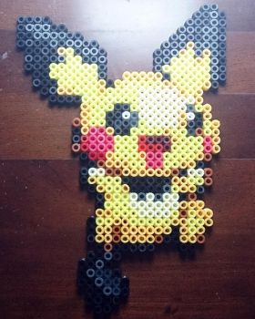 Pichu perler bead #9 by isaletheia