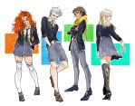 Merida, JackFrost, Hiccup, and Elsa by lilithran