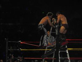 Moore v Cross-Ladder Match by Shame-On-The-Night