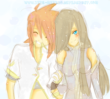 .Tales of the Abyss. LukexTear by Kite-Mitiko