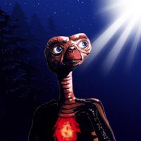 E.T.   The Extra Terrestrial by S-Oh-yah