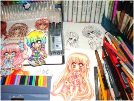 My Workdesk 2012/17/08 by Lettelira