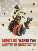 AGENT 88 /USA KICKSTARTER CAMPAIGN by TRAVIS SMITH by diggertmesch