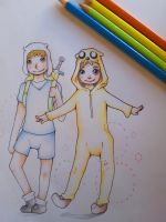 Adventure time cosplay! by Antmae