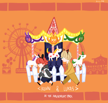 AT THE AMUSEMENT PARK by ABCDEFGHIJKLNM