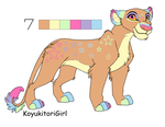 Lion Pallet Adoptable For Sacredfire200 by KoyukitoriGirl