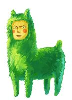ZORO FOR LLAMA by amberely