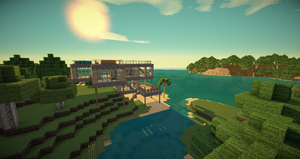 Beach Home 0.2 by mikadoboy82