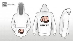 8bit designer (pewdiepie) brofist for the broarmy by calzimer