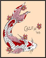 Oriental Fish by Cazeh