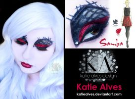 Pantone Inspired Makeup - Samba by KatieAlves