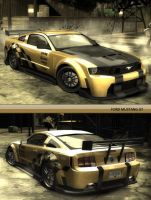 FORD MUSTANG GT by spiritbr
