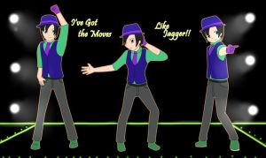 Roger has got the moves like jagger by Kagamine-ryuuji