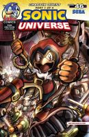 Sonic Universe #46 Cover - Fan Variant (COLOUR) by darkspeeds