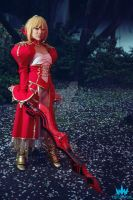 Saber Nero Cosplay by lillybearbutt