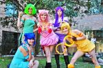 Tokyo Mew Mew Cosplay at IKKiCON by 4ELEVEN-IMAGES
