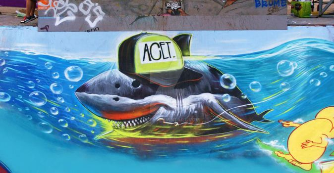 shark attack by acet1