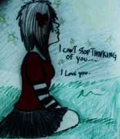 Can't stop thinking of you by MichelleMushroom