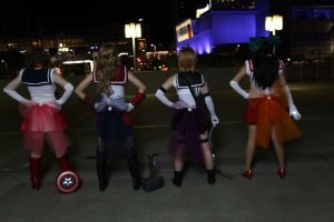 Fighting evil by moonlight... by SlightlyIdentical