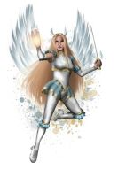 Commission - Archangel by DianaHold