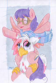 Art Process F by TwilightFlopple