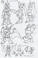 TFProject: Nightsqueak and Sonar by BlueIke
