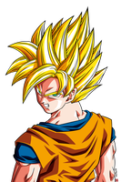 Son Goku ssj - Raging Blast HD by Nostal