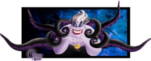 Disney Villains: Ursula by Grincha