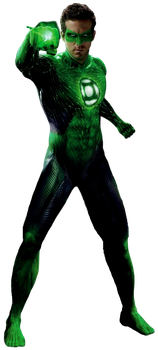 Green Lantern: Full Body - Transparent Background! by Camo-Flauge