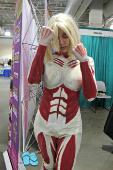 The Female Titan! by WeLiveToCosplay